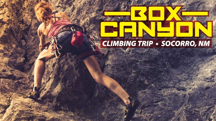Outdoor Recreation: Box Canyon Climbing Trip