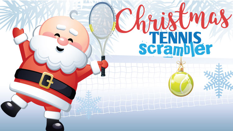 Christmas Tennis Scrambler!