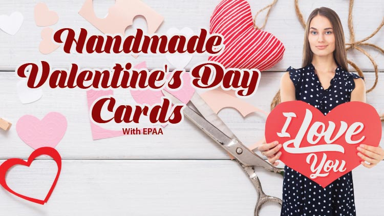 Art & Hobby Shop Handmade Valentine's Day Cards