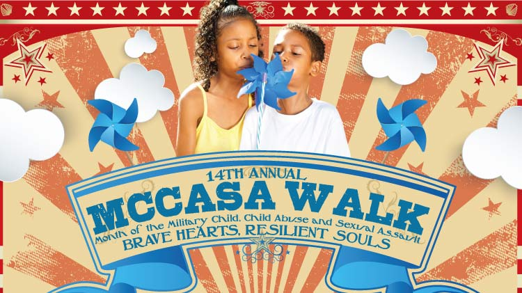 MCCASA Walk Month of the Military Child, Child Abuse and Sexual Assault