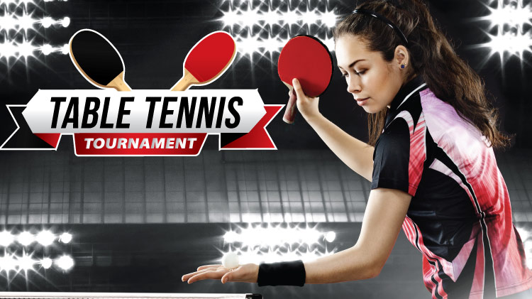 Outdoor Recreation: Table Tennis Tournament