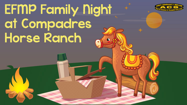 EFMP: Family Night at Compadres Horse Ranch