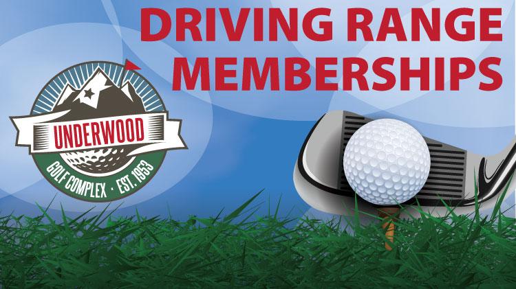 Underwood Driving Range Membership Specials