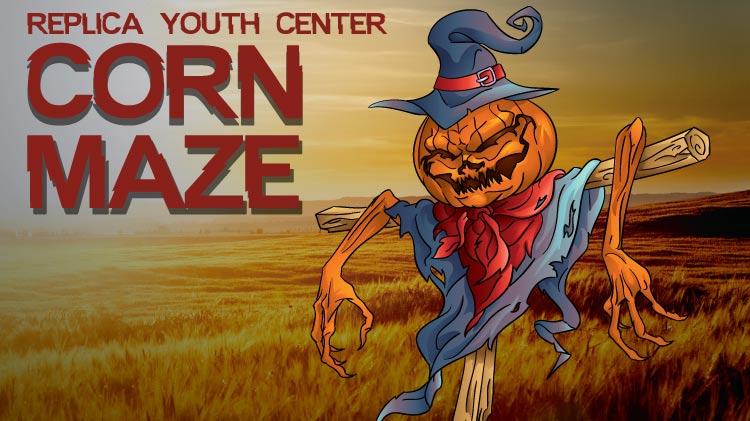 Replica Youth Center Corn Maze