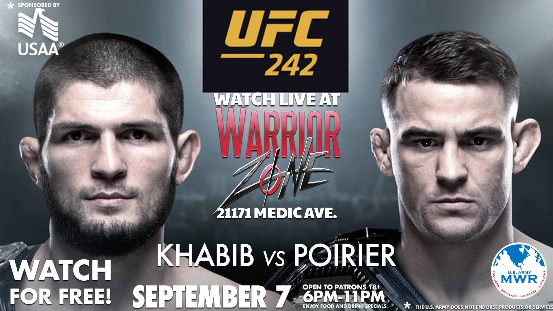 UFC Fight 242