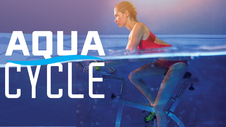 Aqua Cycle with Angel at the ATC