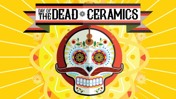 SKIESUnlimited Day of the Dead Ceramics!