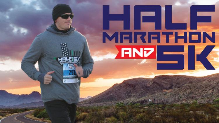 Half Marathon and 5K!