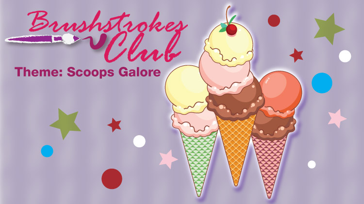 Brushstrokes Club: Scoops Galore
