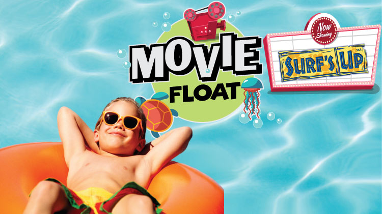 Movie Float: Surf's Up!