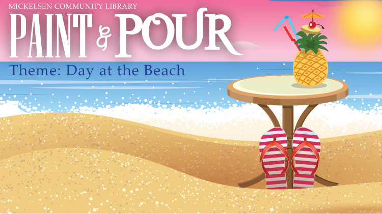 Paint & Pour: Day at the Beach