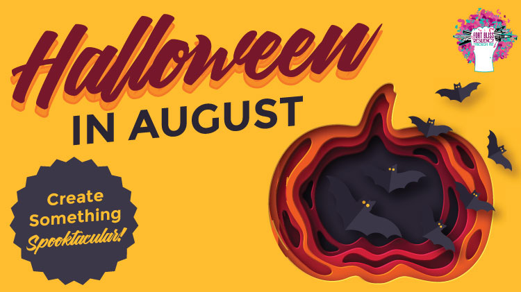 Art & Hobby Shop: Halloween in August!