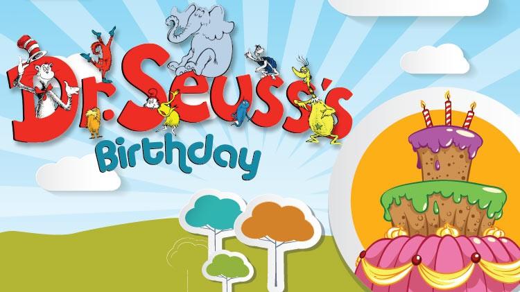 Mickelsen Community Library Dr. Seuss's Birthday! Read across America!
