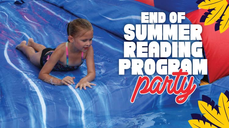 Summer Reading Program End of Program Party