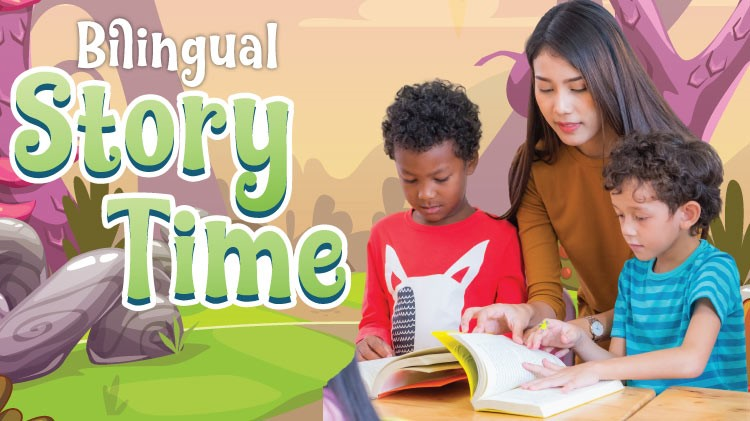Mickelsen Community Library: Bilingual Story Time.