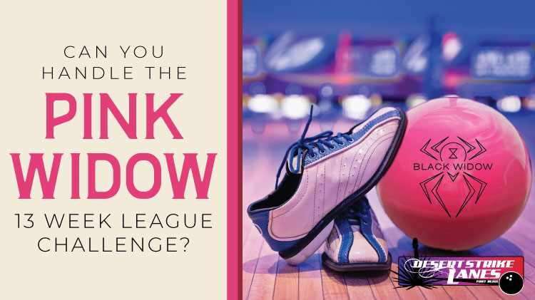 Bowling League Pink Widow Challenge