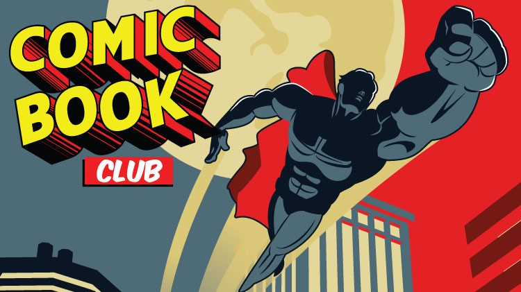 Mickelsen Community Library Comic Book Club!