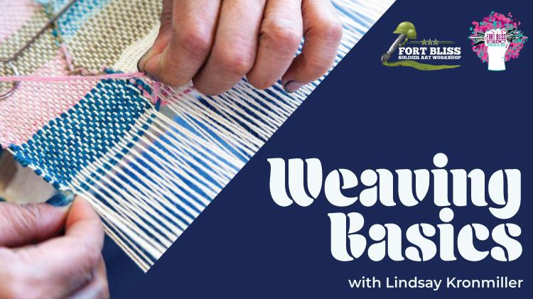 Art & Hobby Shop: Weaving Basics