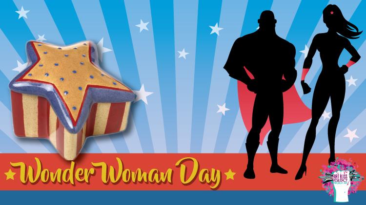 Art & Hobby Shop: Wonder Woman Day!