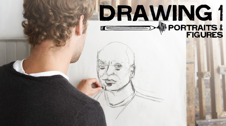 Drawing 1: Portrait and Figures