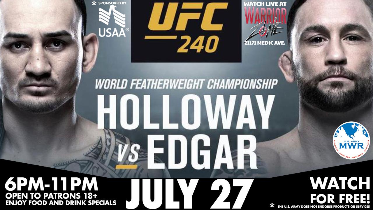 UFC Fight 240