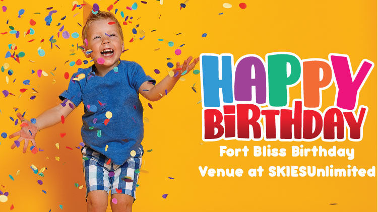 SKIESUnlimited Happy Birthday Venue