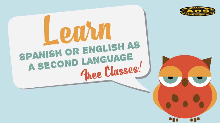 ACS's learn Spanish or English!
