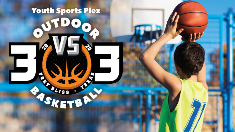 Youth Sports 3 vs 3 Outdoor Basketball