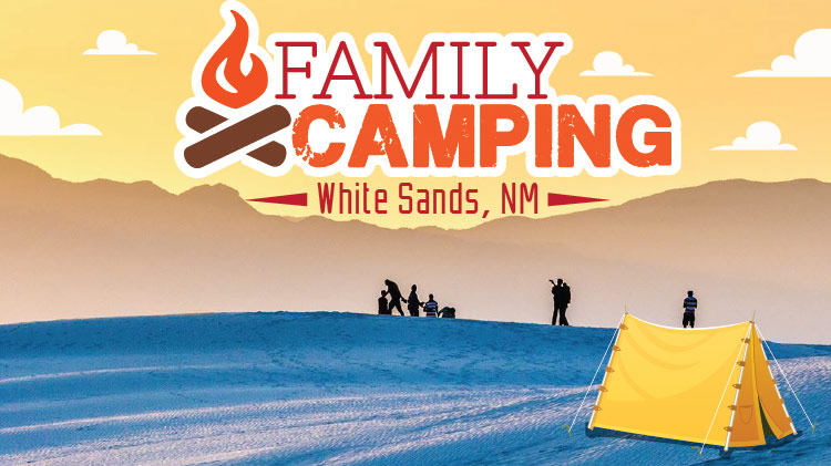Family Camping at White Sands, NM