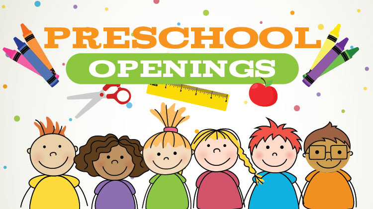 CYS Preschool Openings