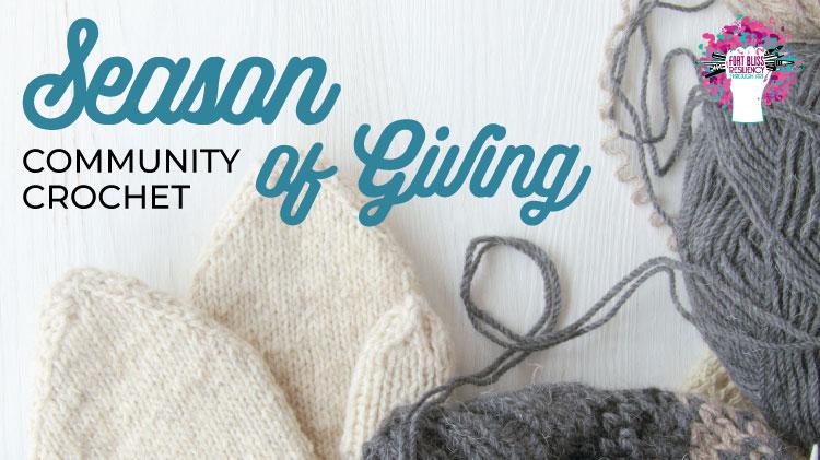 Art & Hobby Shop: Season of Giving Community Crochet