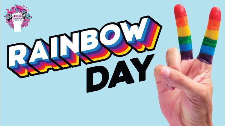 Art & Hobby Shop: Rainbow Day!