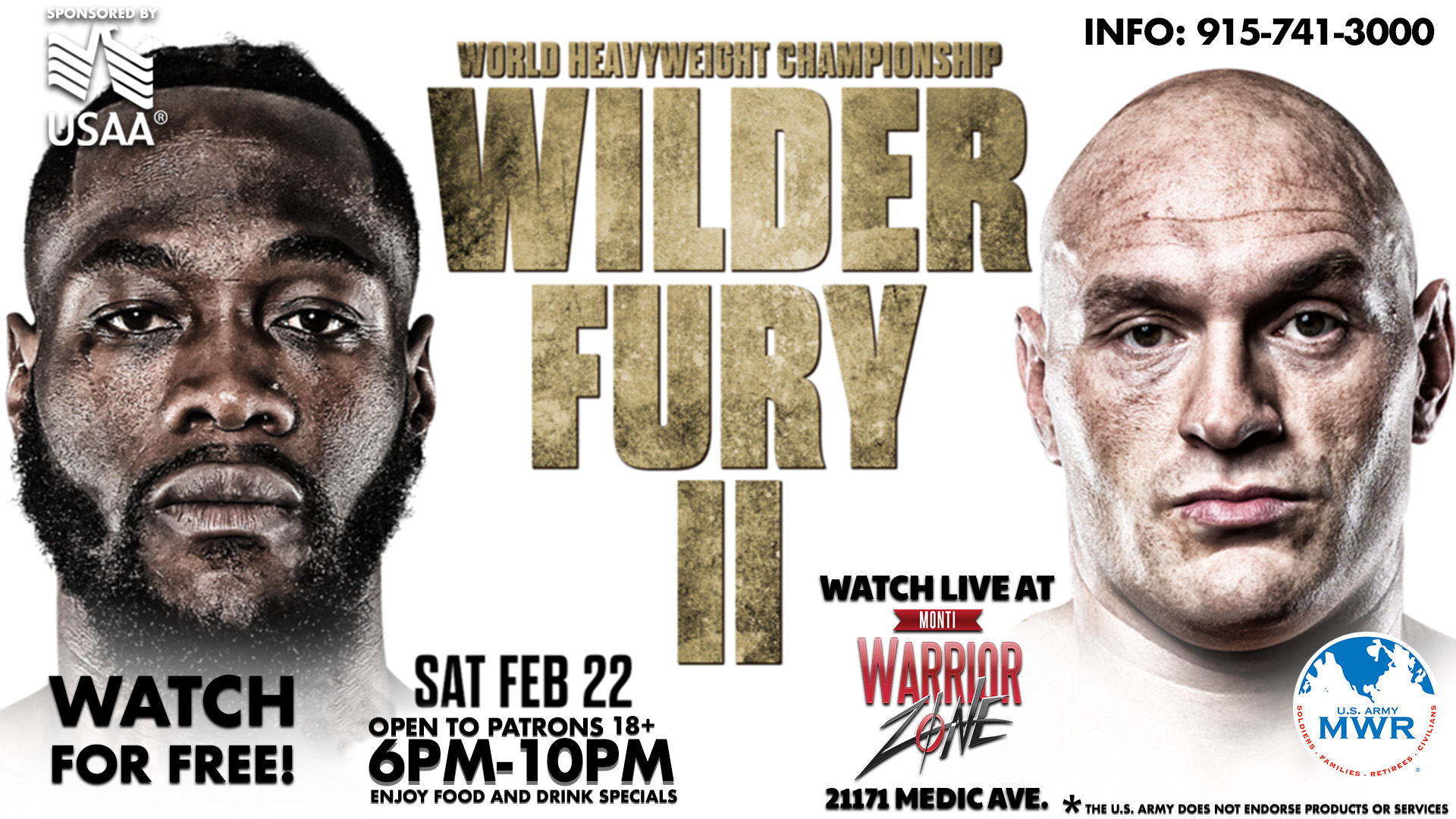 View Event :: Boxing Night Deontay Wilder vs. Tyson Fury II :: Ft ...