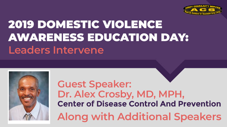 2019 Domestic Violence Awareness Education Day