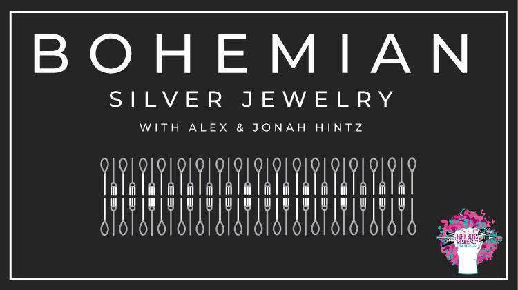Bohemian Silver Jewelry Making with Alex & Johah Hintz.