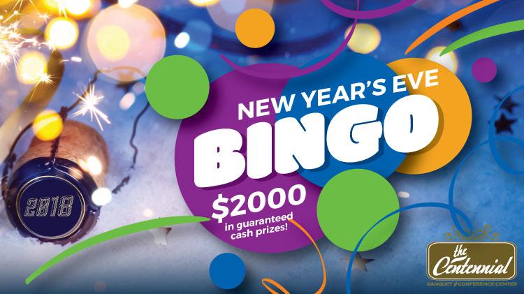 New Year's Eve High Stakes Bingo