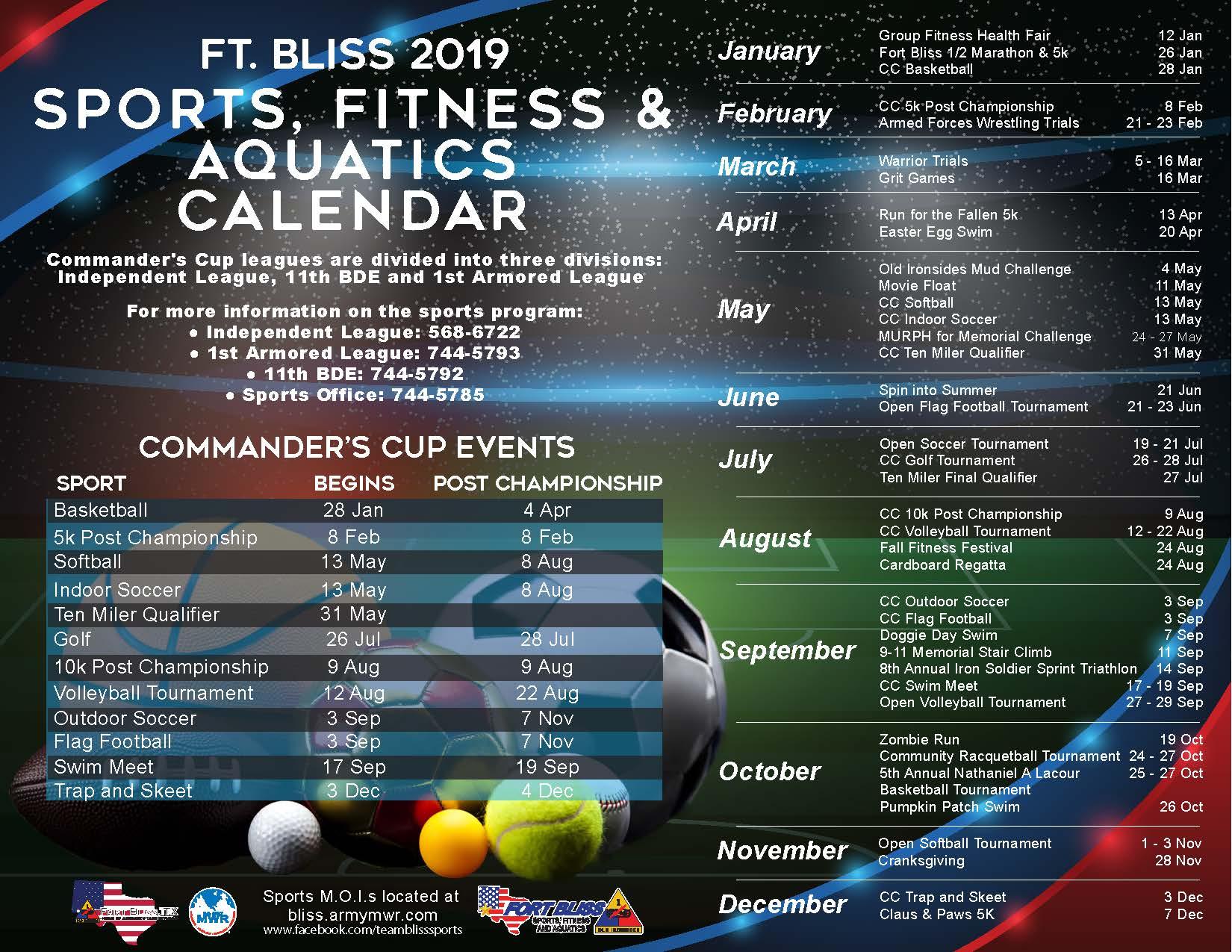 Race Calendar.Sports And Race Calendar