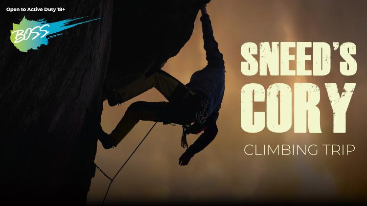 BOSS: Sneed's Cory Climbing Trip