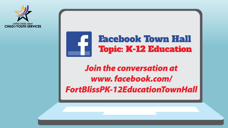K-12 Education Facebook TownHall