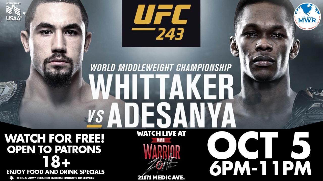 UFC Fight 243