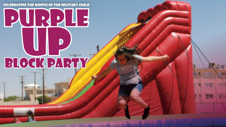 Purple Up Block Party!!!