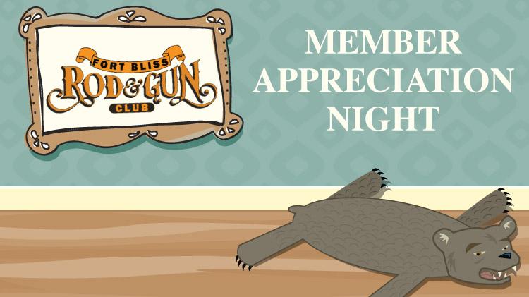 Rod & Gun Member Appreciation Night