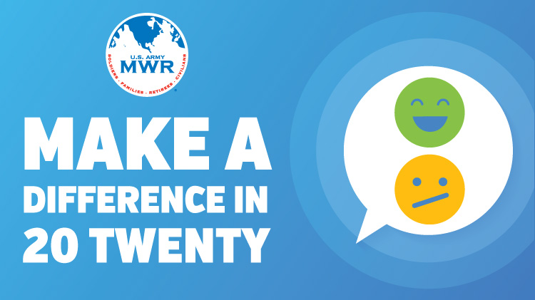 Make a Difference in 20 Twenty Survey