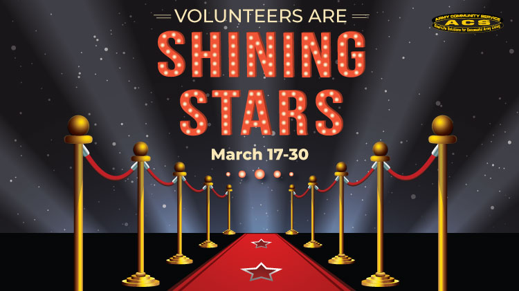 Volunteers are Shining Stars