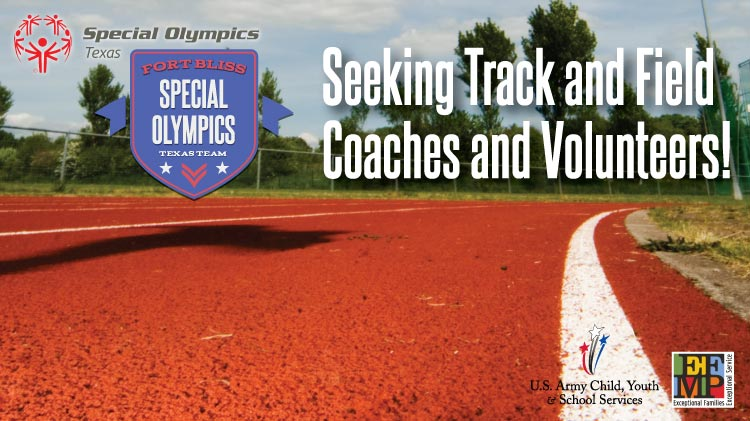 Special Olympics Coaches Needed