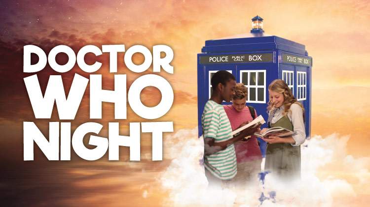 Doctor Who Night at the Mickelsen Community Library!