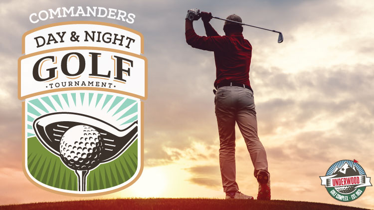Commanders Day & Night Golf Tournament