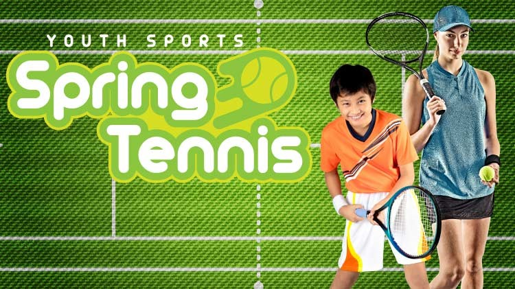 Youth Sports Spring Tennis