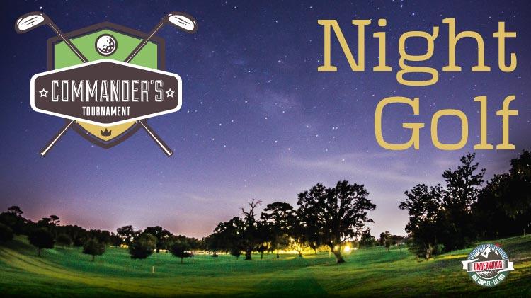 Commander's Night Golf Tournament