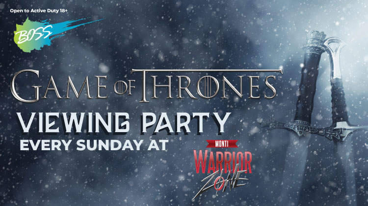 BOSS: Game of Thrones Viewing Party!